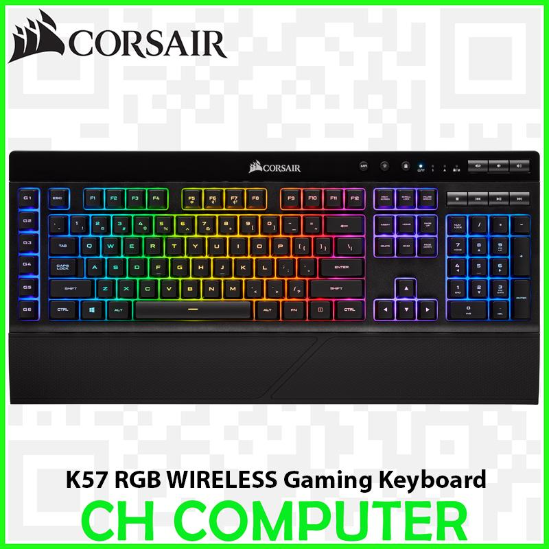 CORSAIR K57 RGB Wireless Gaming Keyboard Singapore