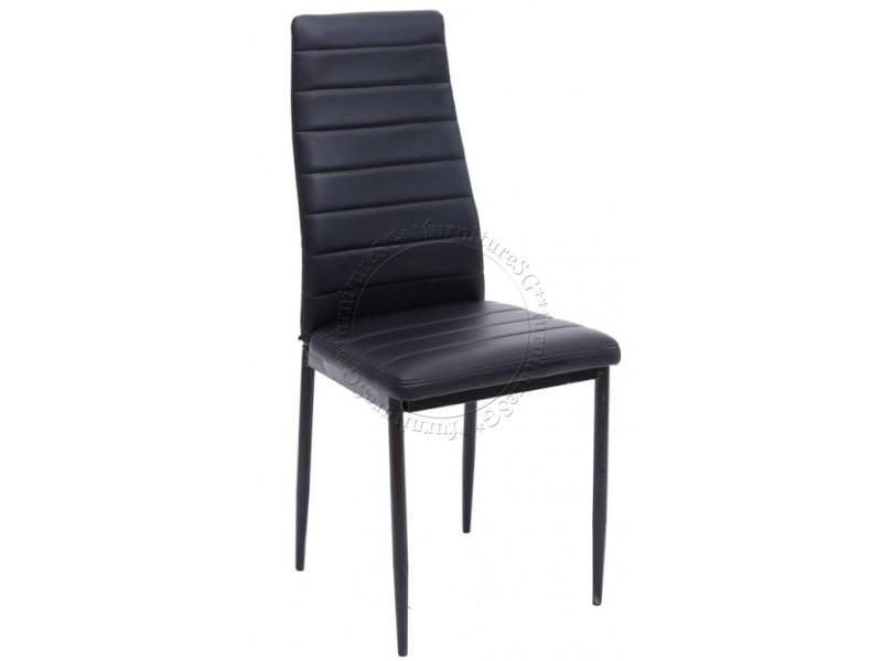 6 Nos of PVC Dining Chair with Metal Legs Free Installation & Delivery