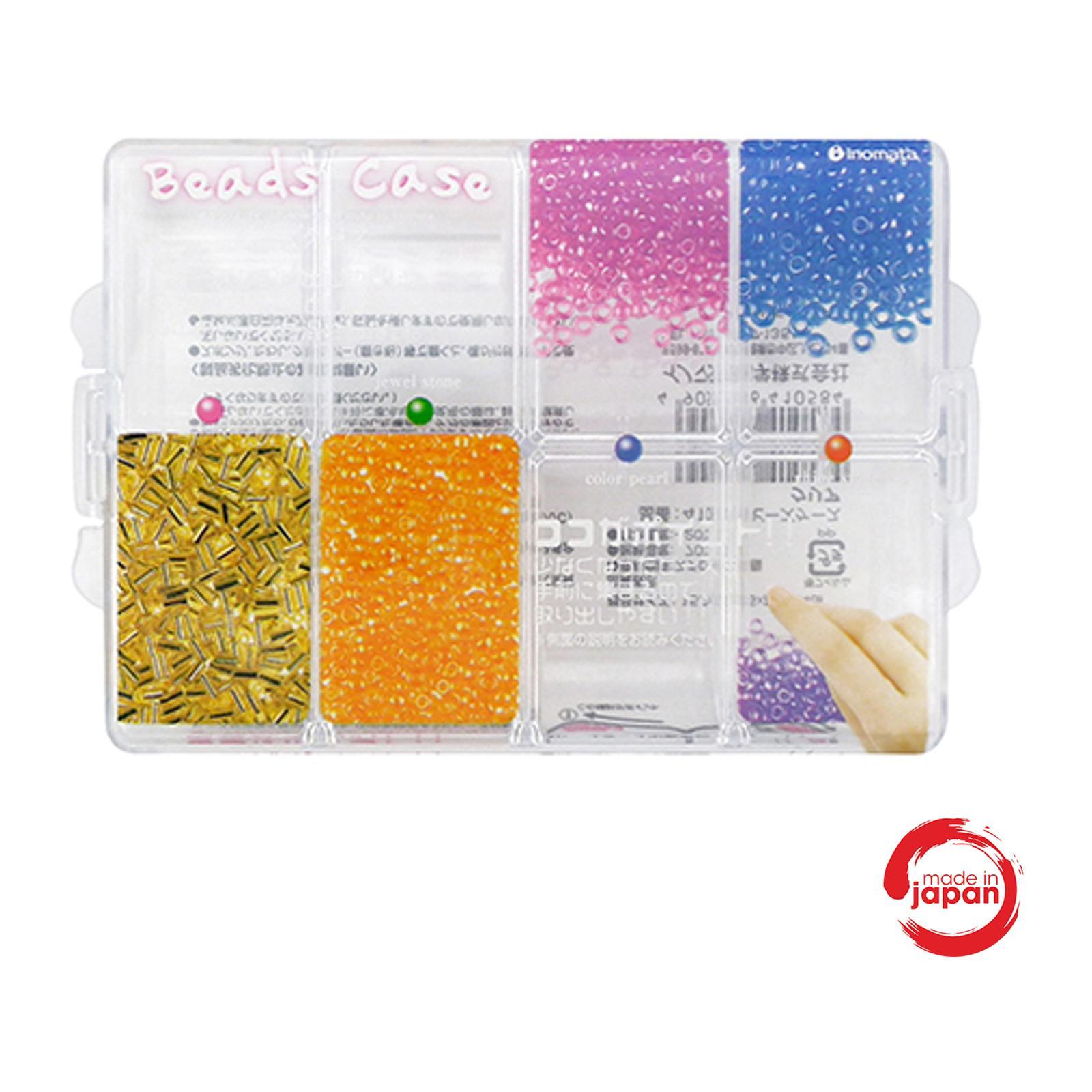 Nomi - Stationery Sewing Bead Case -Clear