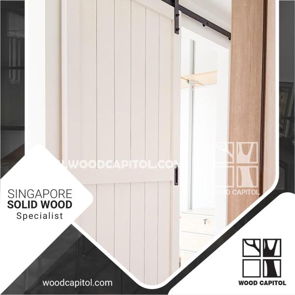 Wood Capitol Sliding Door