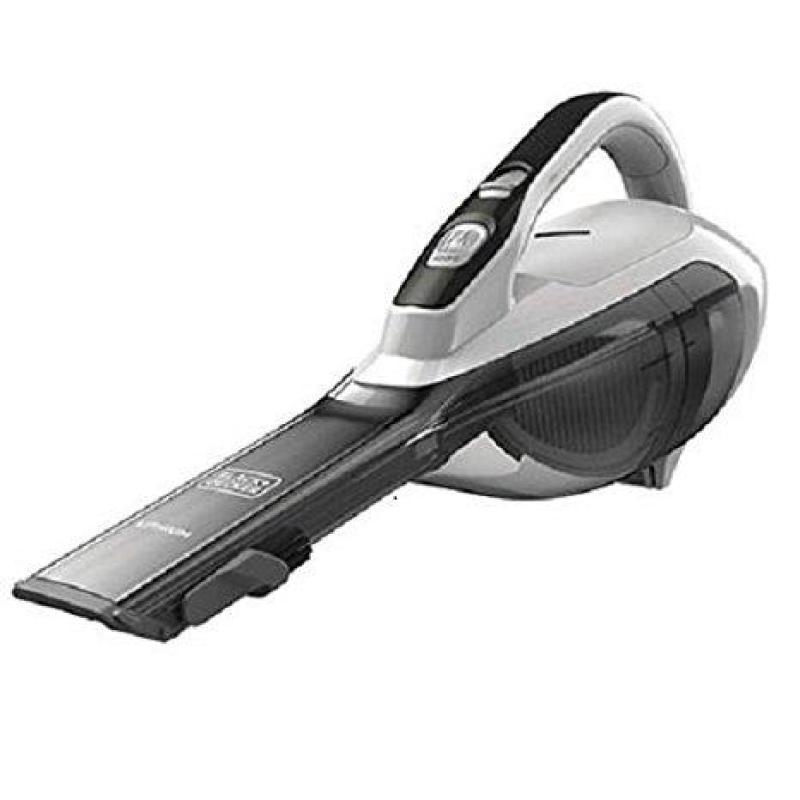 Lowest Price Black + Decker Cordless Lithium Ion Hand Vacuum DVA315JF Singapore