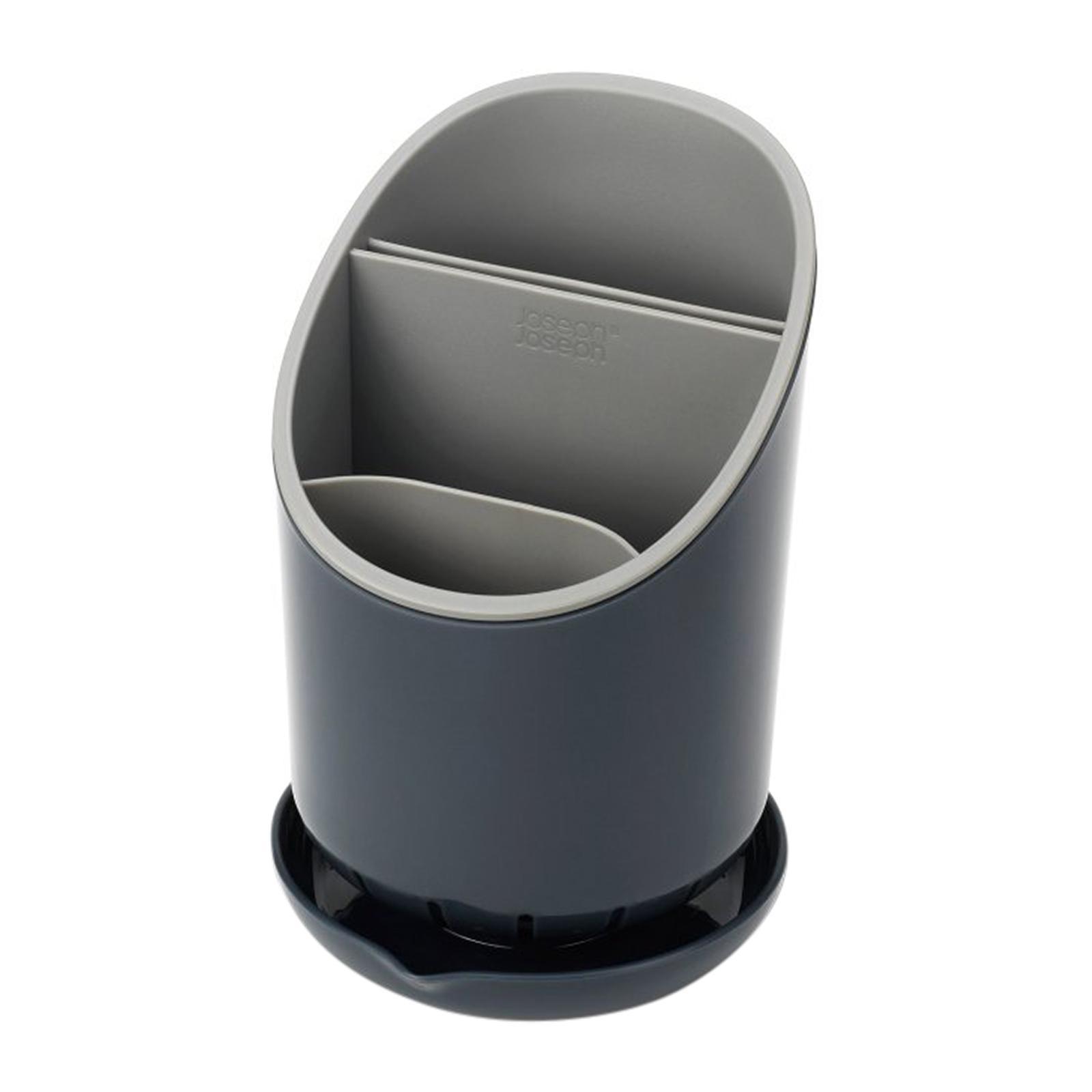 Joseph Joseph Dock - Dk. Grey/Grey (121x188x127mm) - Cutlery Drainer