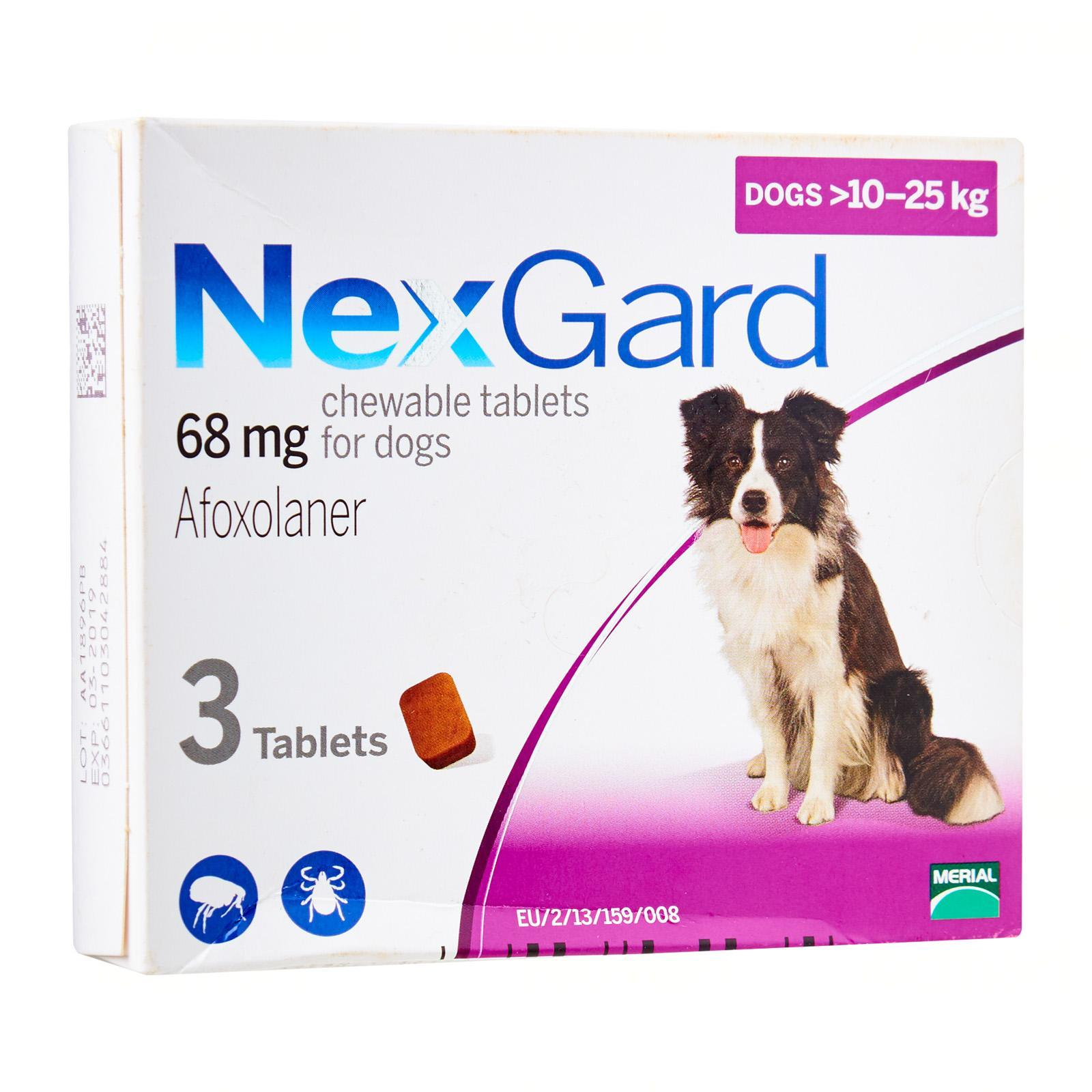 Nexgard Flea and Ticks Chewable by Frontline - 10 to 25kg