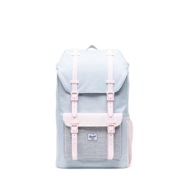 Herschel Little America Youth - Ballad Blue Pastel Crosshatch/Rosewater Pastel/Light Grey Crosshatch