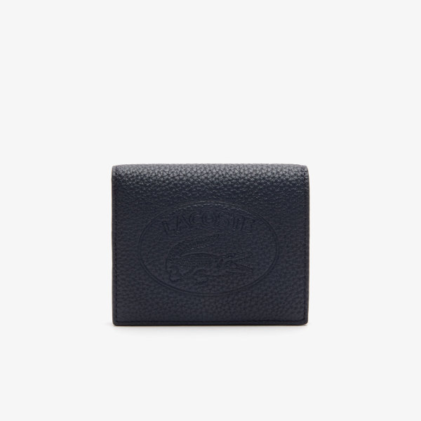 Womens Croco Crew Grained Leather Snap Wallet NF2974NL