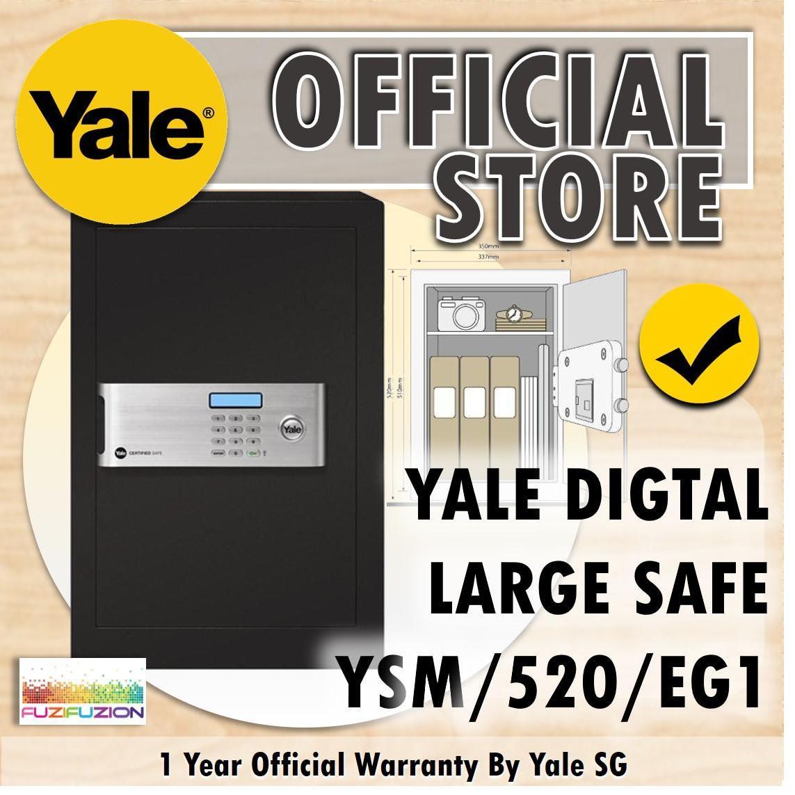 Yale YSM/520/EG1 Large Certified Digital Safe Box