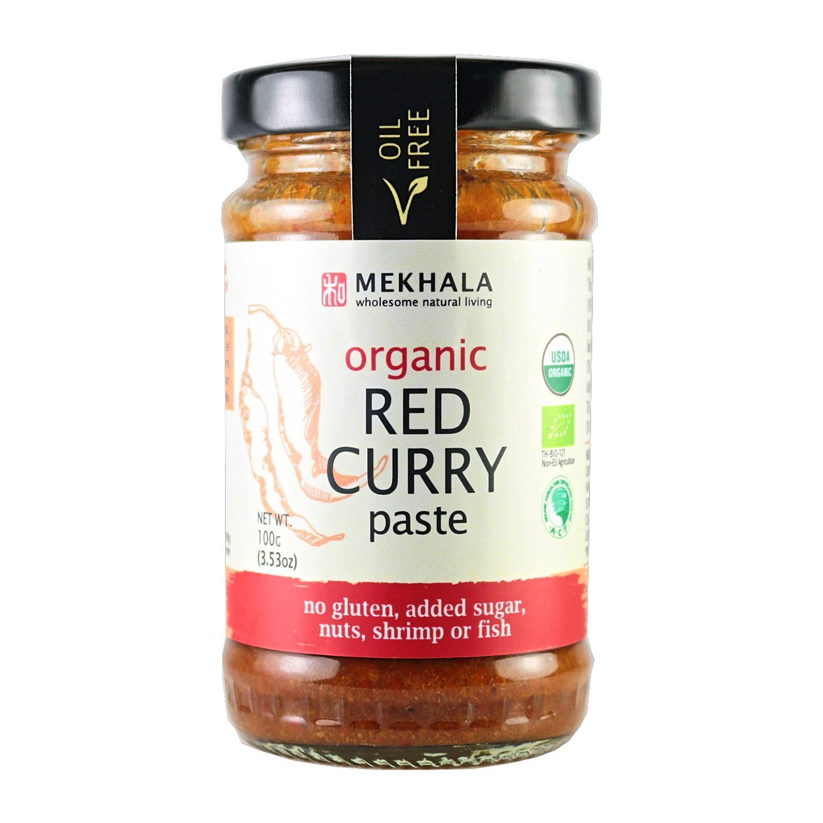 Mekhala Organic (all-Natural) Thai Red Curry Paste By Redmart.