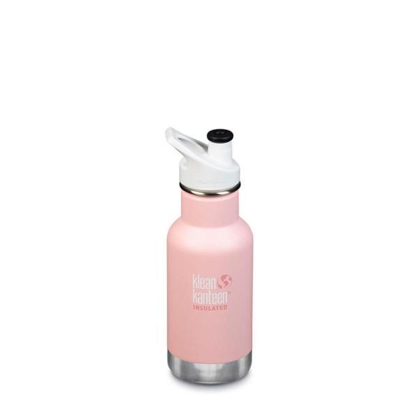 Klean Kanteen Insulated Kid Classic 120z Water Bottle (W/Kid Sport Cap) (Ballet Slipper)