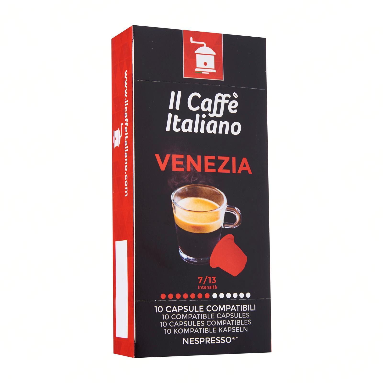Il Caffe Italiano 10 Nespresso Compatible Coffee Capsules - Blend Venezia