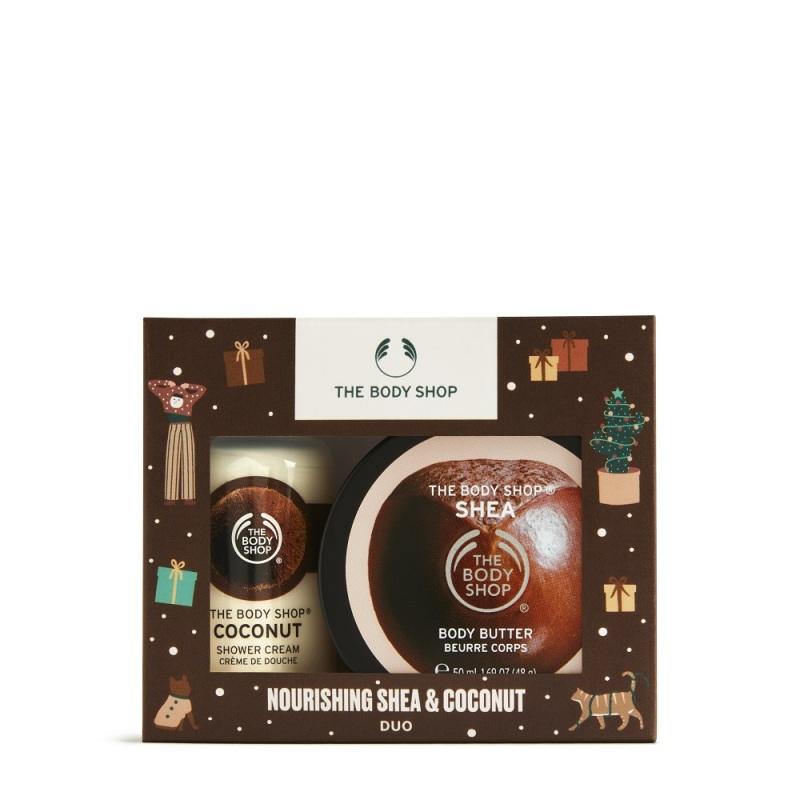Buy The Body Shop Nourishing Shea & Coconut Duo (Christmas Gift Set) Singapore