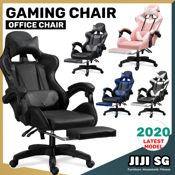 (Delivered in 3days) Gaming Chair EpicPro/Polaris With/without Legrest - Performance/Office/Racing Chairs ★Computer Table ★Storage ★Foam/ Free 12 Months Warranty (SG)