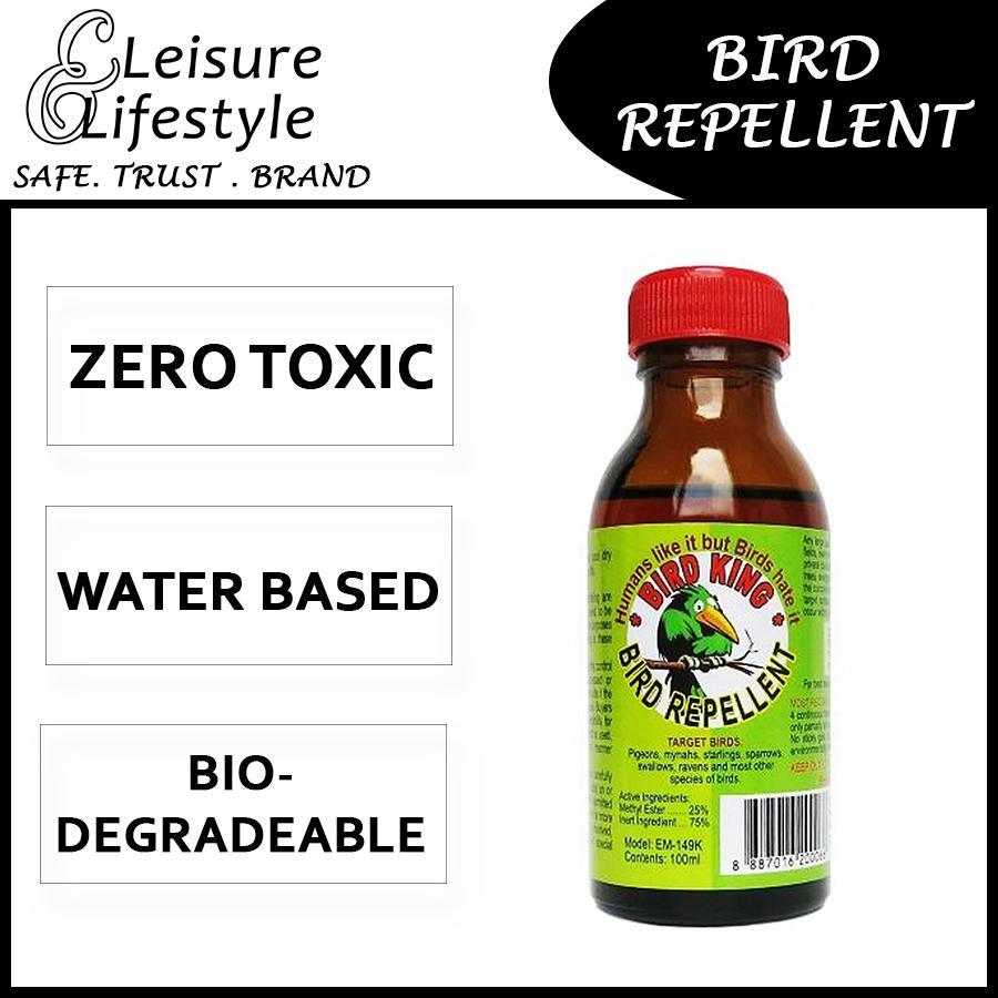 Bird King Repellent Bird Repellent 100ML