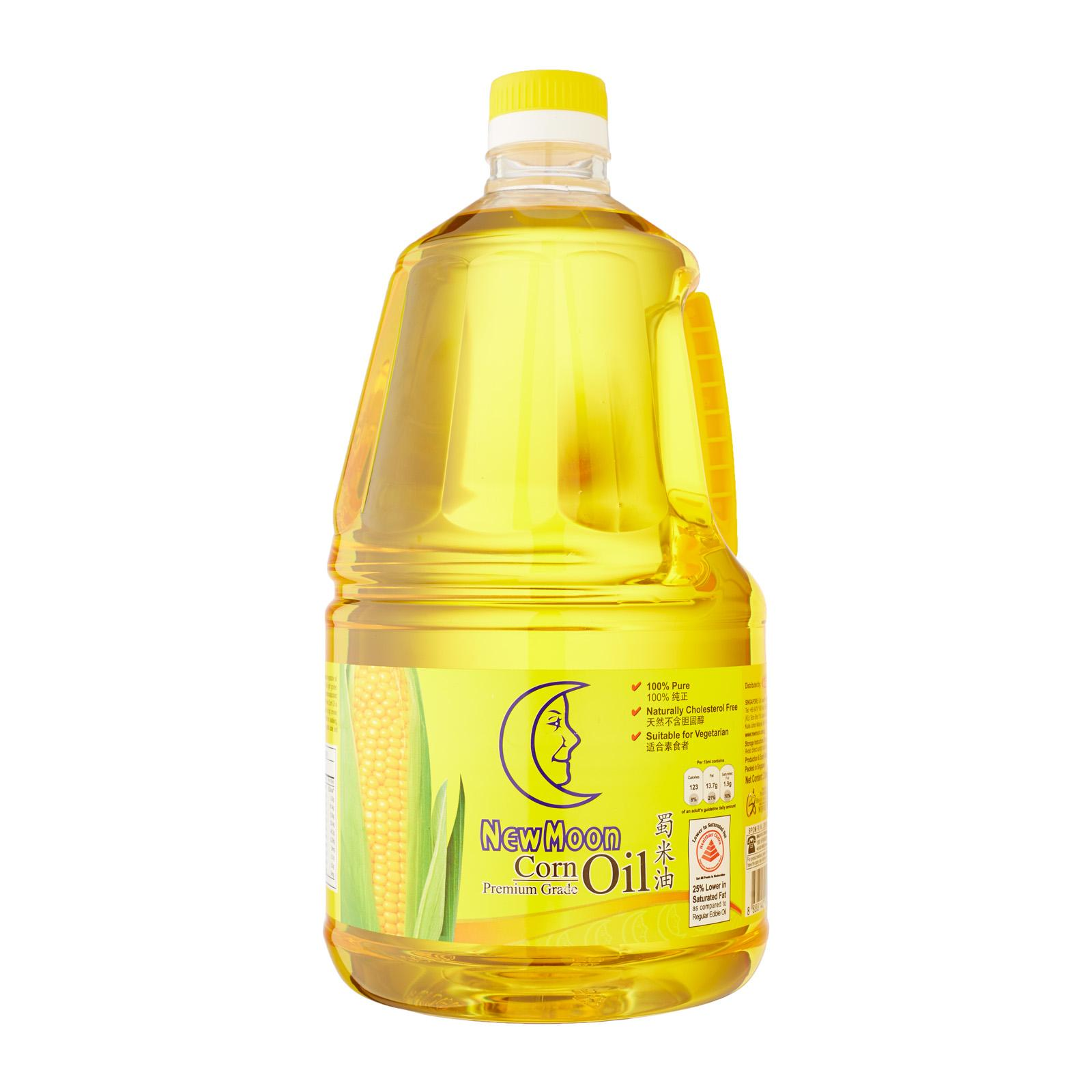 New Moon Premium Grade Corn Oil By Redmart.