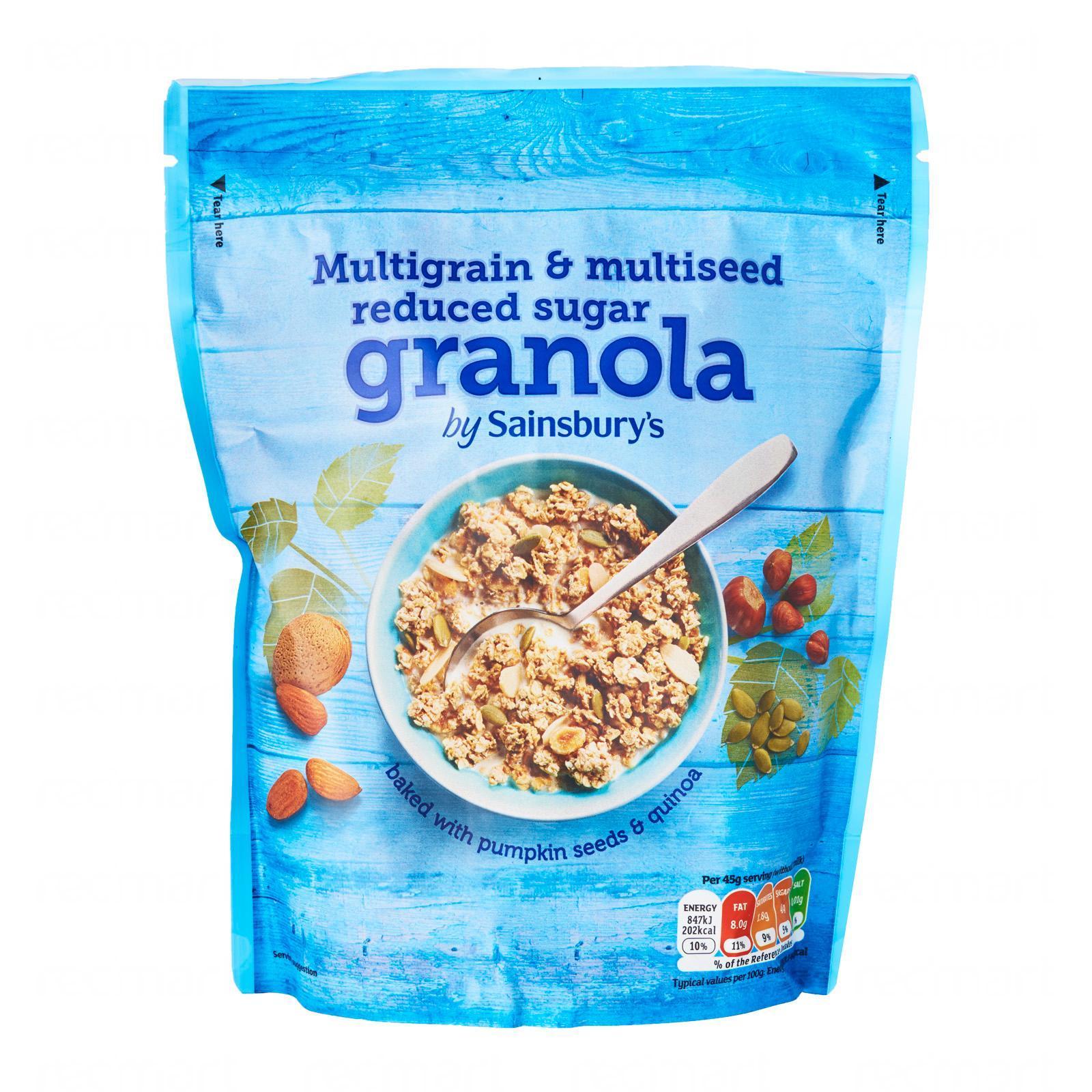 Sainsbury's Granola Reduced Sugar