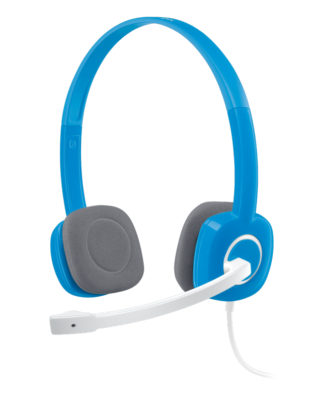 H150 STEREO HEADSET Dual plug computer headset with in-line controls and noise cancellation Mic Singapore