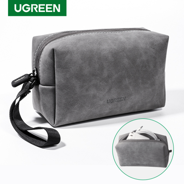 UGREEN Accessories Storage Bag Box Charger Charging Headset Mouse Accessories Storage Bag Large Capacity Travel Portable Bag Power Bag Suitable for Apple Macbook Computer