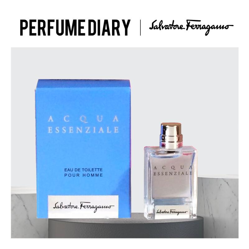 Buy Salvatore Ferragamo Acqua Essenziale EDT (Men) 5ml - P.Diary Singapore