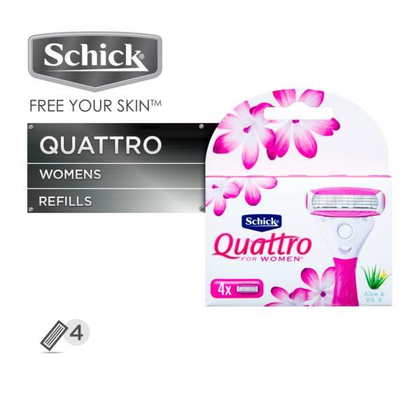 Buy Schick Quattro For Women Cartridges Singapore