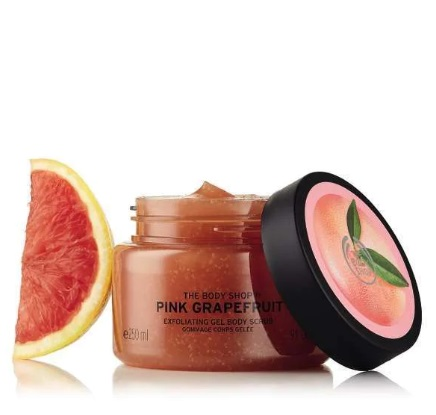 The Body Shop® Pink Grapefruit Exfoliating Gel Body Scrub 250ml.