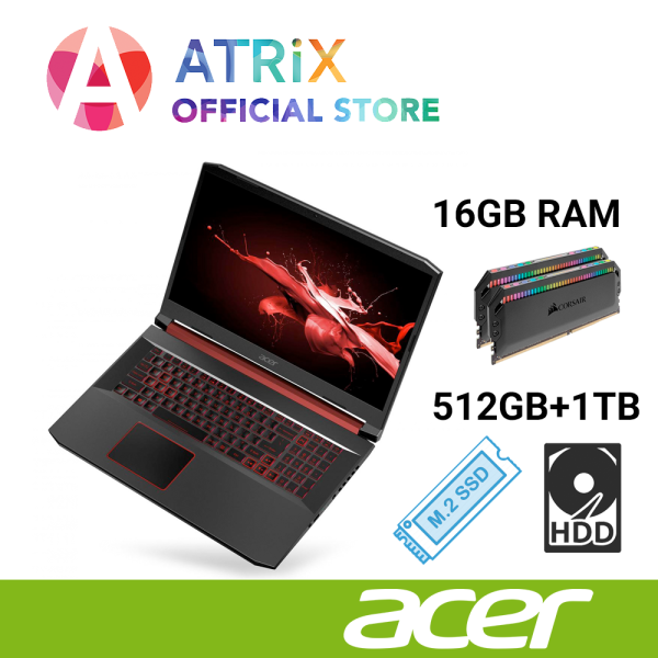 Acer Nitro 5 Gaming | 15.6inch FHD 120Hz | Ryzen 5 3550H | GTX 1650-4GB DDR5 | Win10 Home | 2Yrs Acer Warranty | AN515-43-R5V8