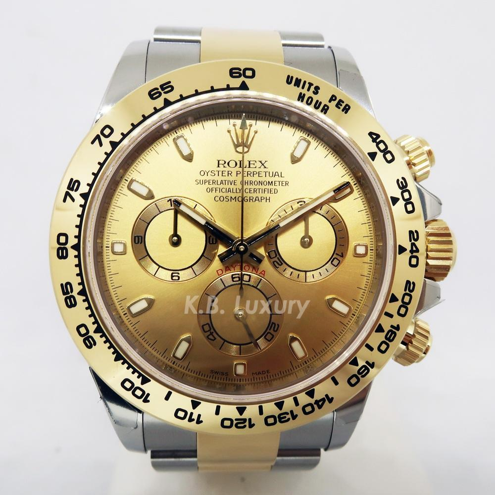 dab7a5e69f1 Rolex Daytona 116503 Oyster, 40 mm Watch (Steel and Yellow Gold)