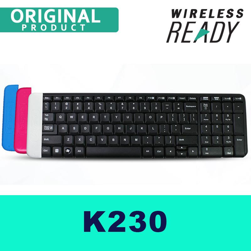 Wireless Keyboard Logitech K230 Full Standard Keyboard Borderless Design for PC Singapore