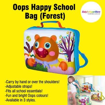 Oops Happy School Bag (Forest)