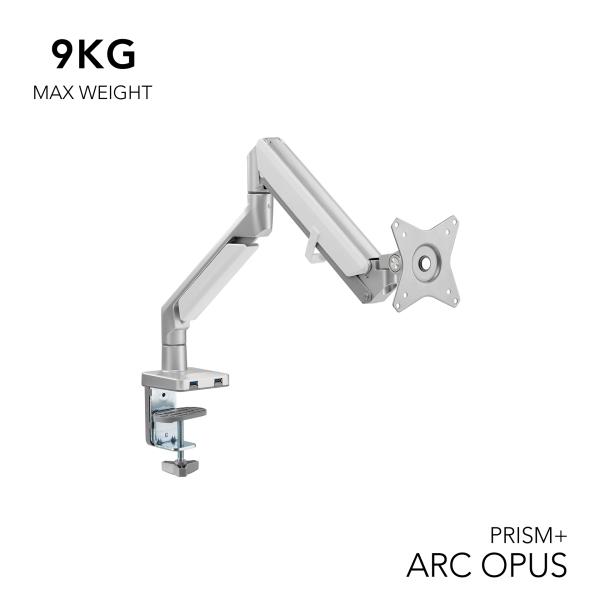 PRISM+ ARC OPUS Single Monitor VESA Monitor Arm