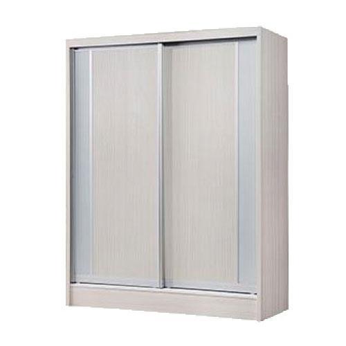 [Furniture Amart] Jorah 5 feet Sliding wardrobe in limewash panel (free assembly)