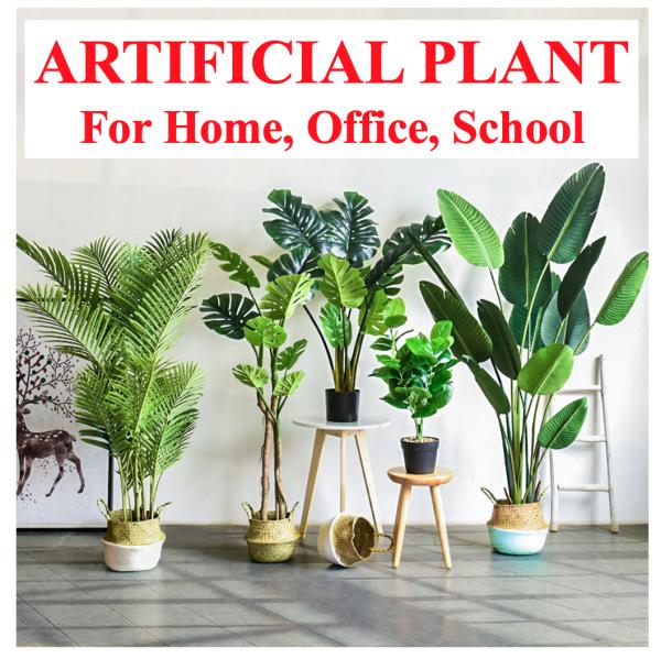 [PLANT](#30-#44)Artificial Plant Big Medium Size Flower Indoor Home Decor Tree Green Plants Good Nice Quality