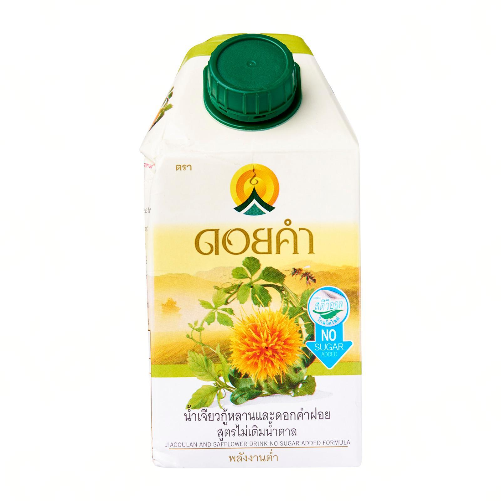 Doi Kham Jiaogulan And Safflower Drink No Sugar Added Formula. Not From Concentrate