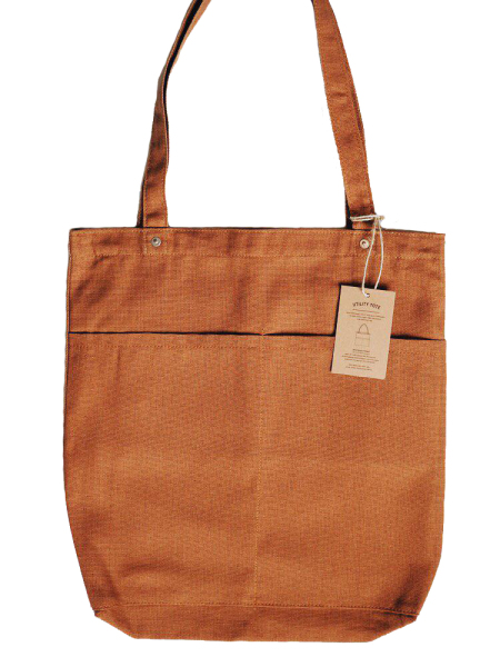 Journal Projects Utility Tote Bag (12oz Brown Canvas)