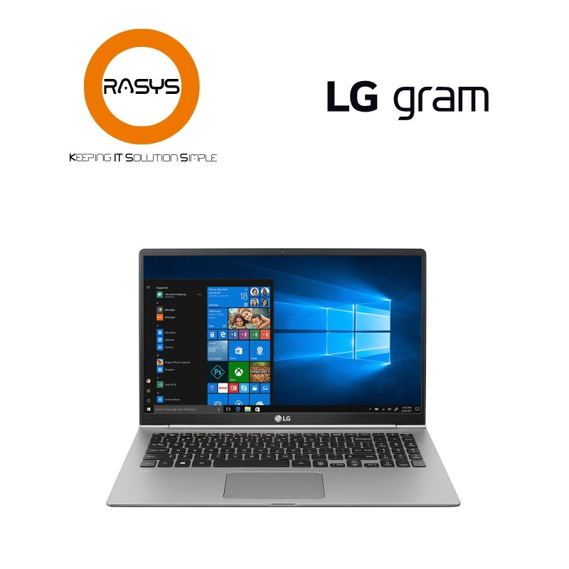 "[PROMO] 15Z990-G.AA7CA3 LG gram 15.6"" Ultra-Lightweight Laptop with Intel® Core™ i7 processor"