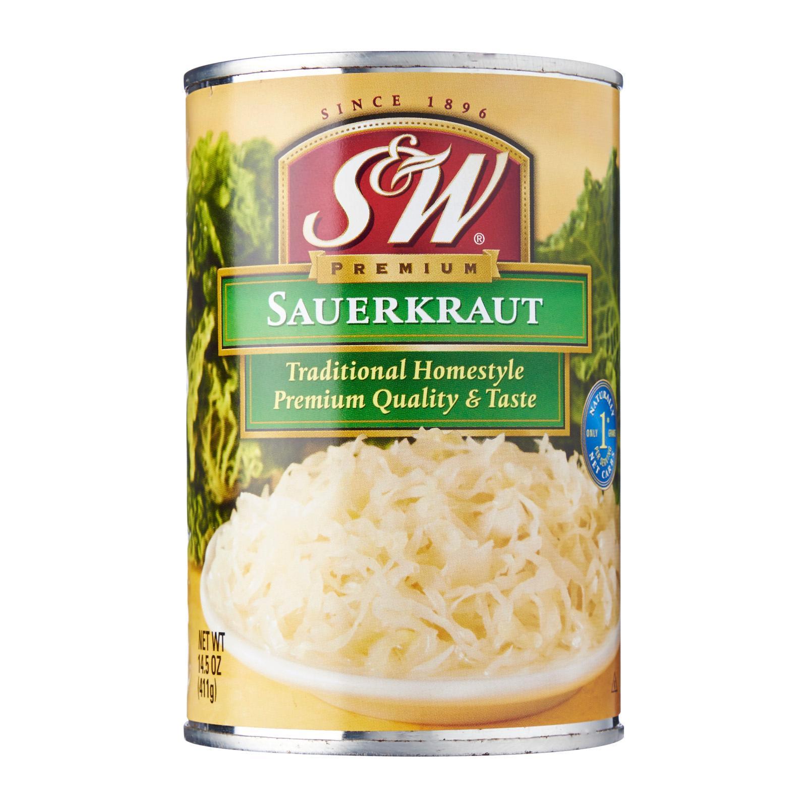 S&w Premium Sauerkraut By Redmart.
