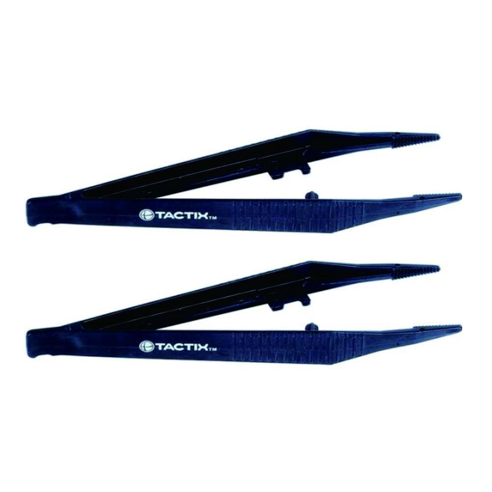 Tactix Plastic Tweezers (2Pcs)