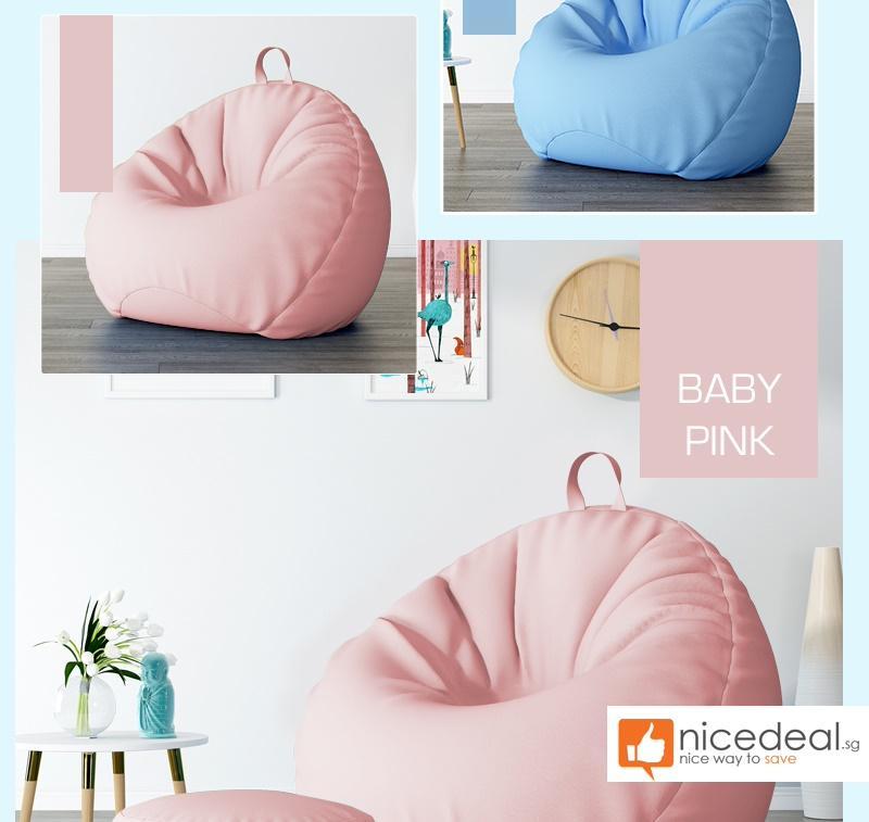 (NEW) Lazy Bean Bag Sofa Premium Bean Bag Chair Soft Cushioning Bedding / Floor Chair / Cushion