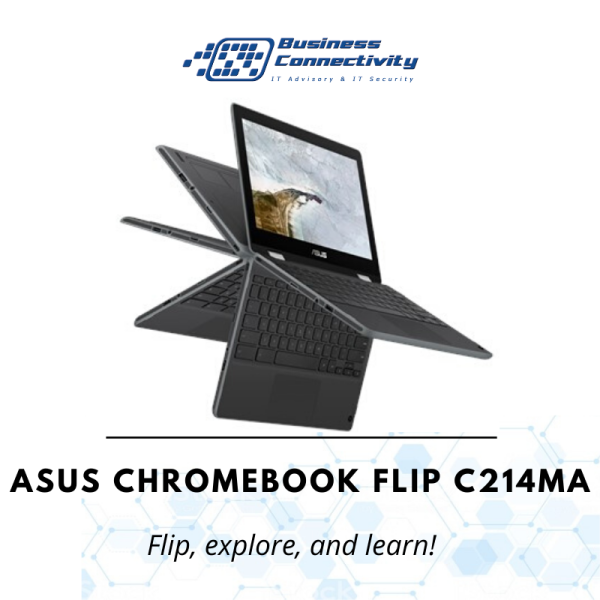 ASUS Chromebook 11.6 HD Touch Flip C214MA-BW0212  Intel® Celeron® N4000 / 4GB / 64GB eMMC