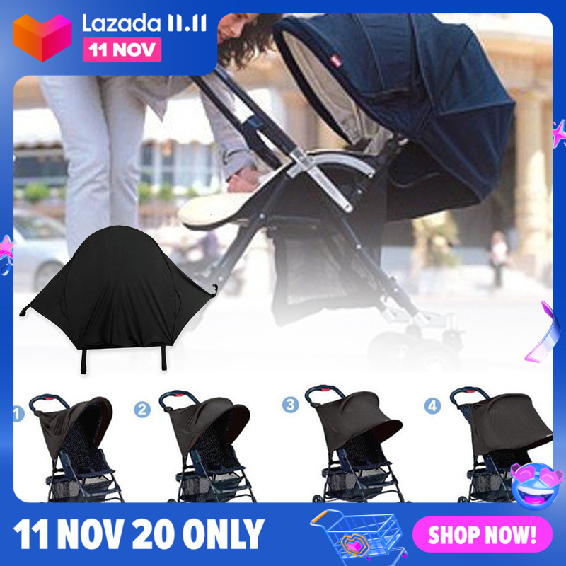 Barbie Toy for Barbie Sunshade Sunshade Toy Doll Carriage Baby Dolls Dollhouse Accessories Children Gift Baby Stroller Toy Singapore