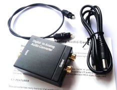 Where To Buy Dac Optical Digital Coaxial Toslink Signal To Analog Rca Audio Converter Adapter Export Intl