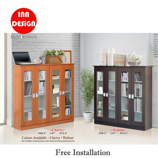 [Delivery Within 2-5 Days] Hugon Bookshelf / Display Bookshelf (Free Delivery and Installation)