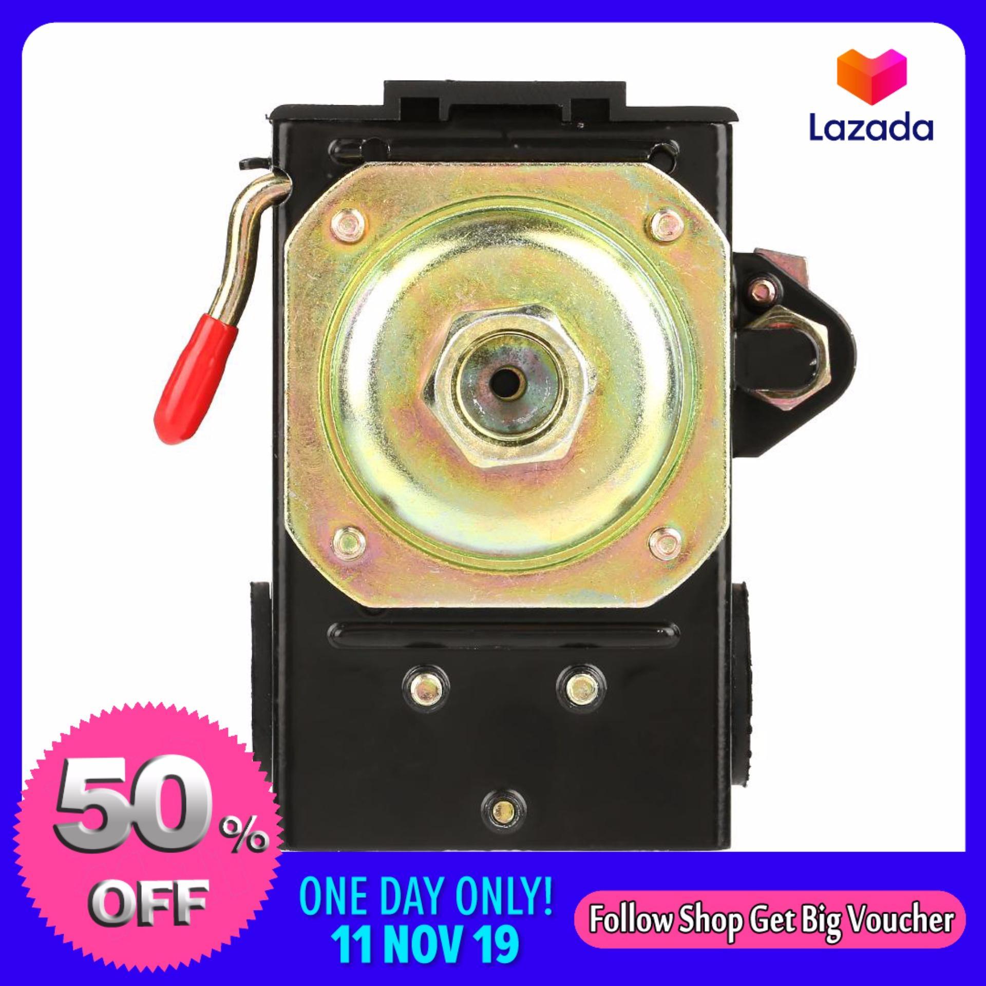 1 pcs Universal Pressure Switch 95-125 Psi For Air Compressor Pump Control Valve - intl