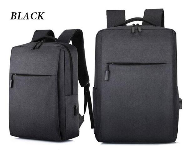 NEW DESIGN MINIMALISTIC BACKPACK! Unisex Outdoor Travel School Bag. Sleek Design, fits Laptop, Ipad.