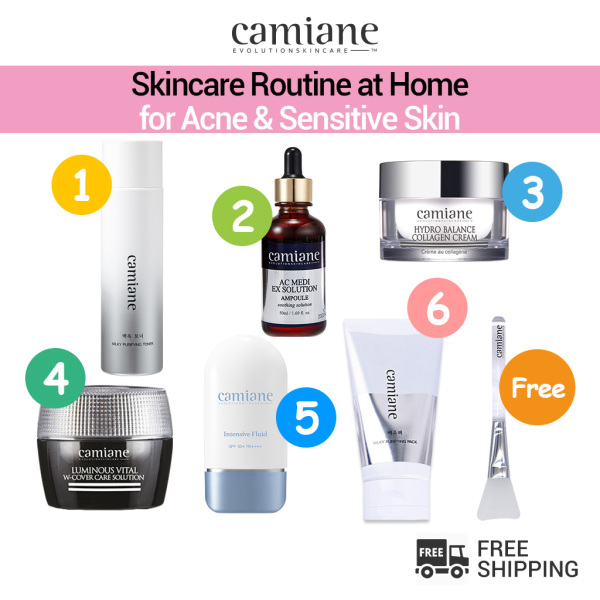 Buy [Camiane] Daily Skincare Routine for Acne & Sensitive Skin Singapore
