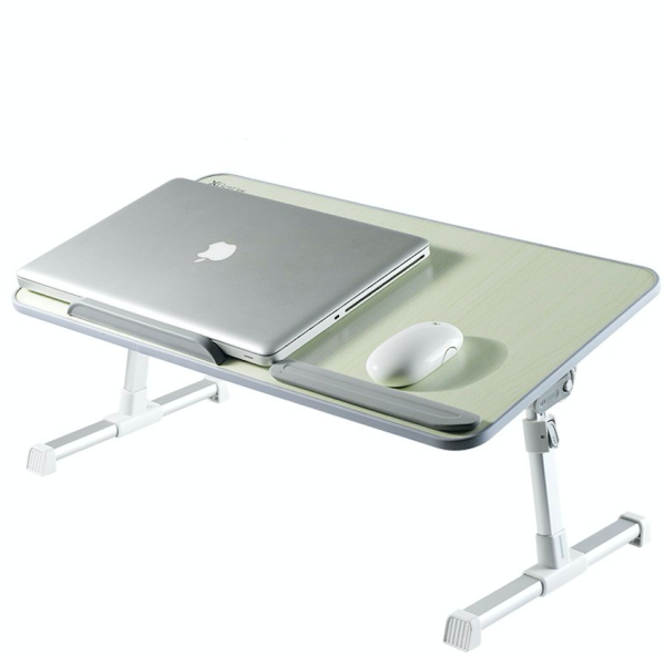 【SG STOCK】Laptop Stands Xgear A8 Foldable Laptop Table Desk Adjustable Height USB Cooling Fan