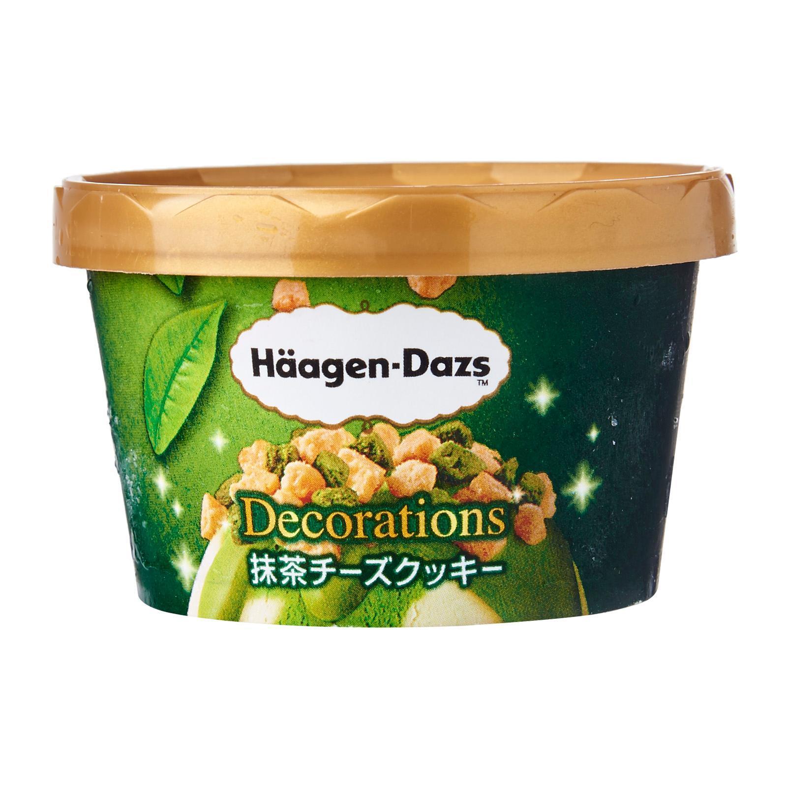 Haagen-Dazs Matcha Cheese Cookies Ice Cream Cup - Frozen