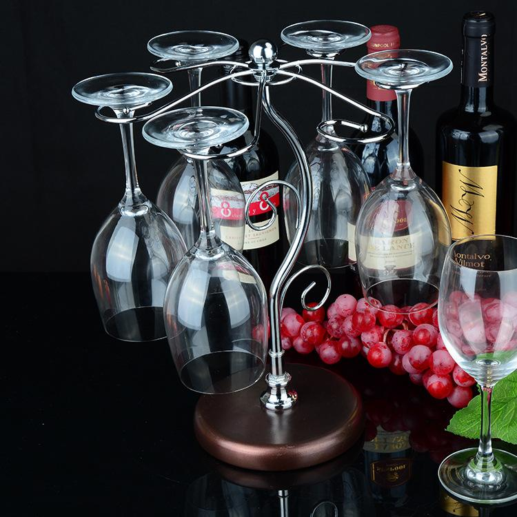 European Style Fashion Wine Rack Creative Wine Rack Put Red Wine Shelf Wine Glass Rack