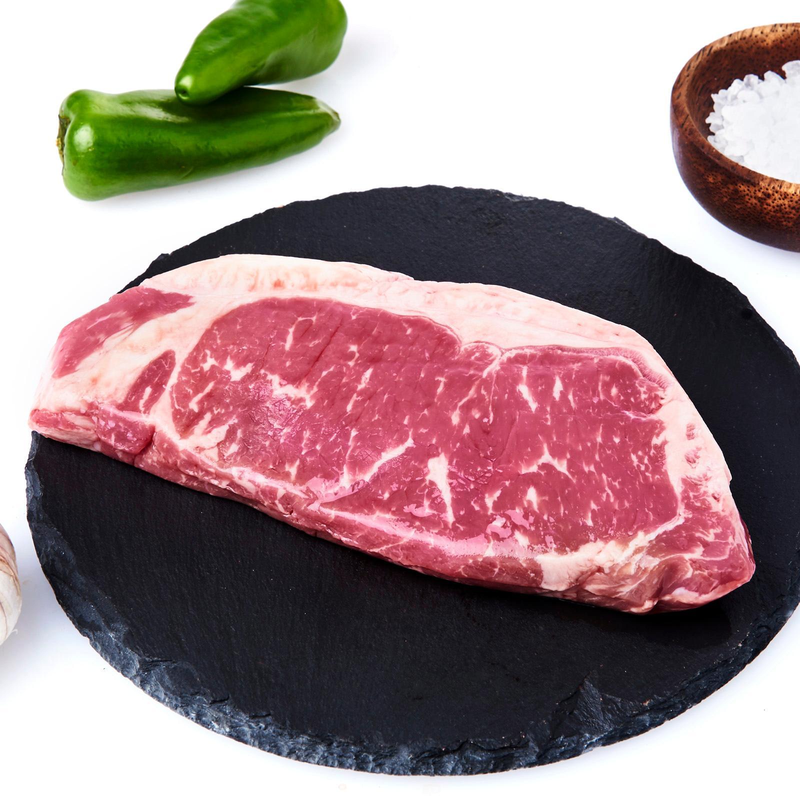 Meat Co. Premium Australian 100 Day Grain Fed Beef Striploin