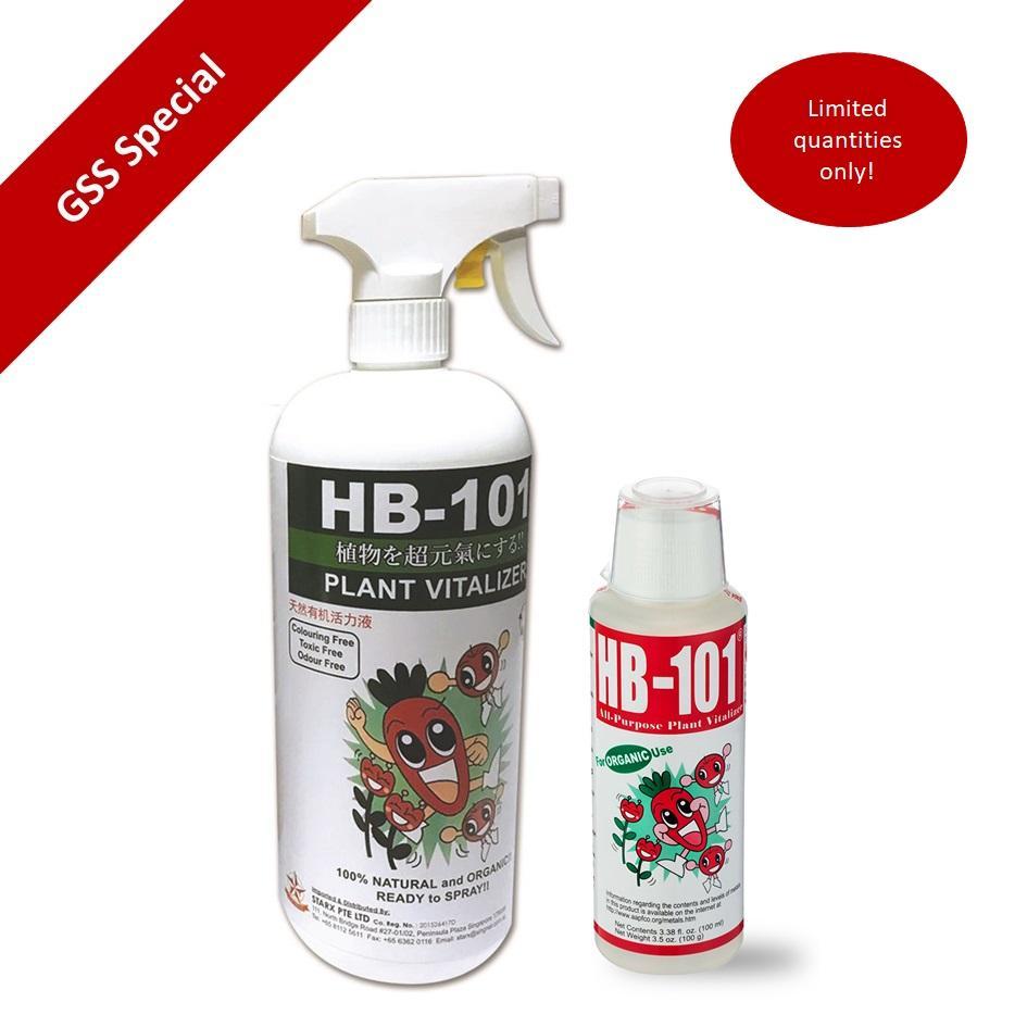 [Bundle] HB101 Natural Plant Vitalizer 100ml + HB101 1000ml RTS
