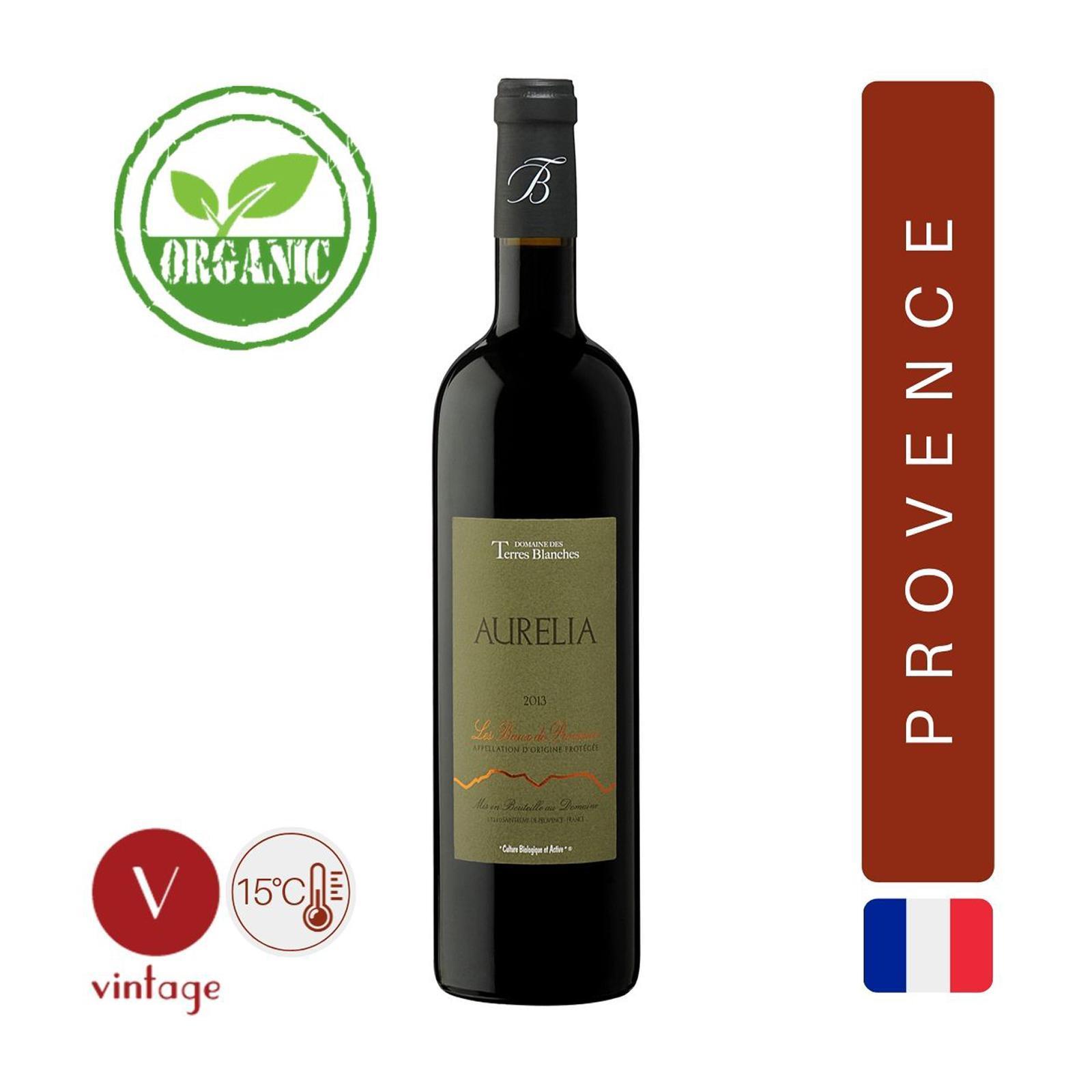 Domaine des Terres Blanches Aurelia - Provence Red Wine