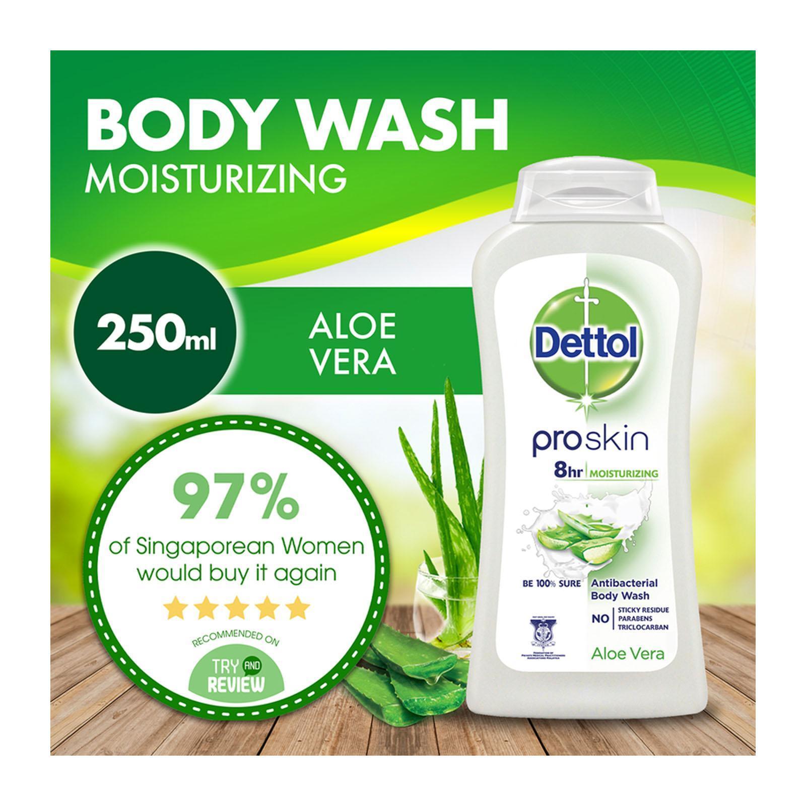 Dettol Body Wash Pro Skin Aloe Vera
